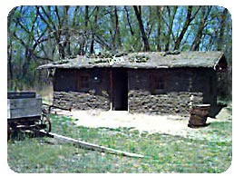 An Old Sod House