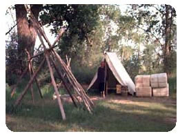 Tent and Teepee